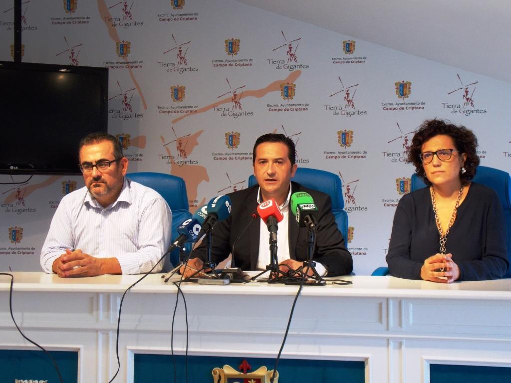 El periodista Miguel Ángel Mellado es nombrado Hijo Predilecto de Campo de Criptana