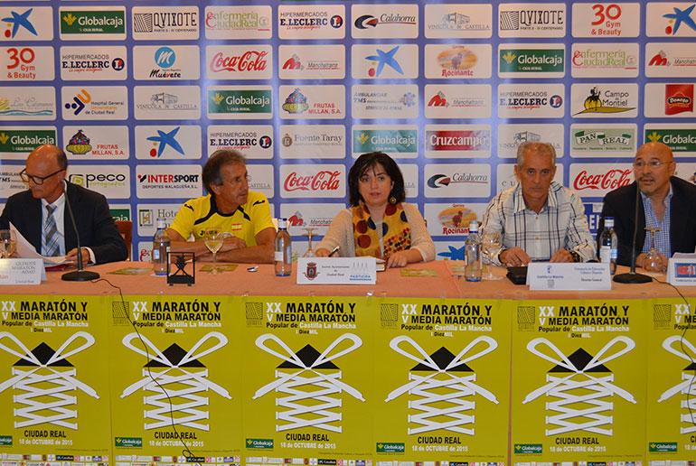 Ciudad Real se volcará el 18 de octubre con la XX Quixote Maratón de Castilla-La Mancha