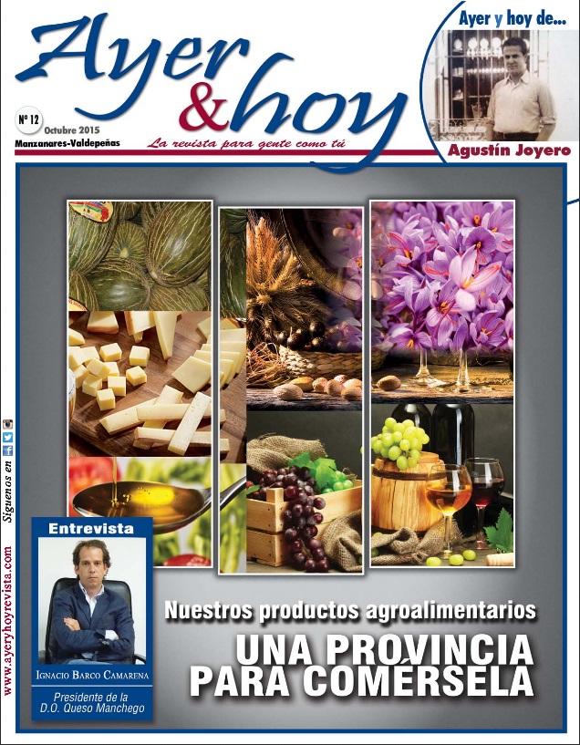 Revista de Octubre 2015 – Manzanares-Valdepeñas