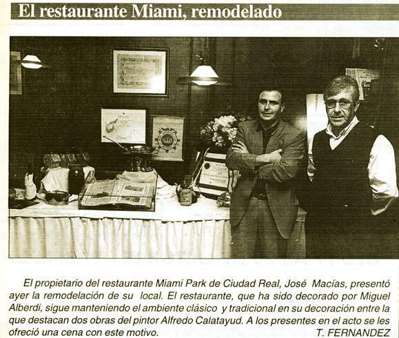 """Miguel Alberdi Bellón. 30 años con """"El Decorador"""""""