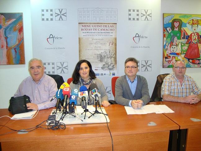 Presentada la XI edición del menú Guiso de Bodas de Camacho en Alcázar