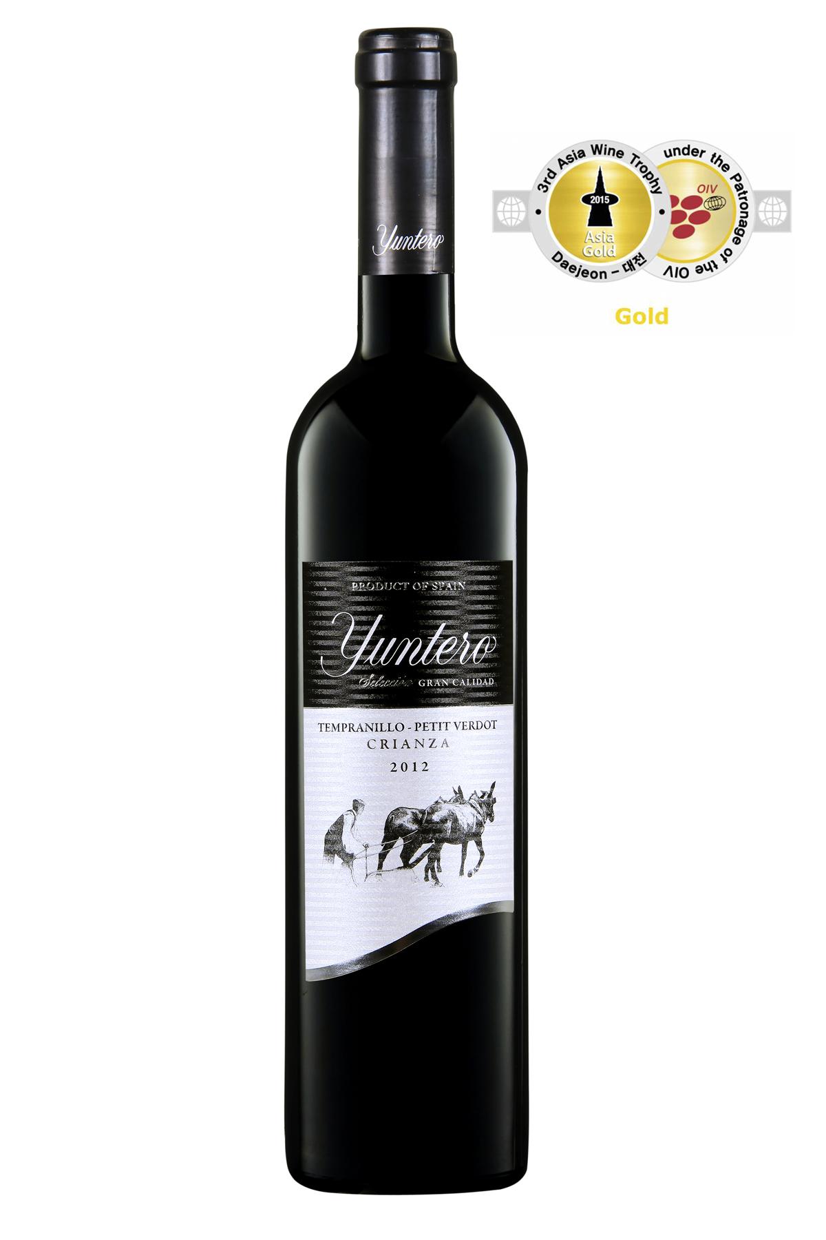 Bodegas Yuntero, doble oro en Asia Wine Trophy 2015