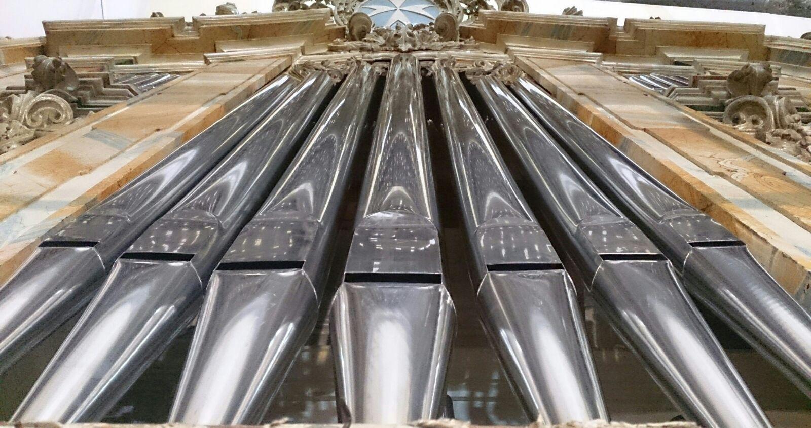 Bendición del órgano barroco de la parroquia de Herencia