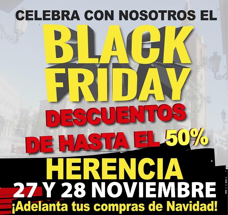 El fenómeno del Black Friday llega a Herencia con descuentos de hasta el 50 %