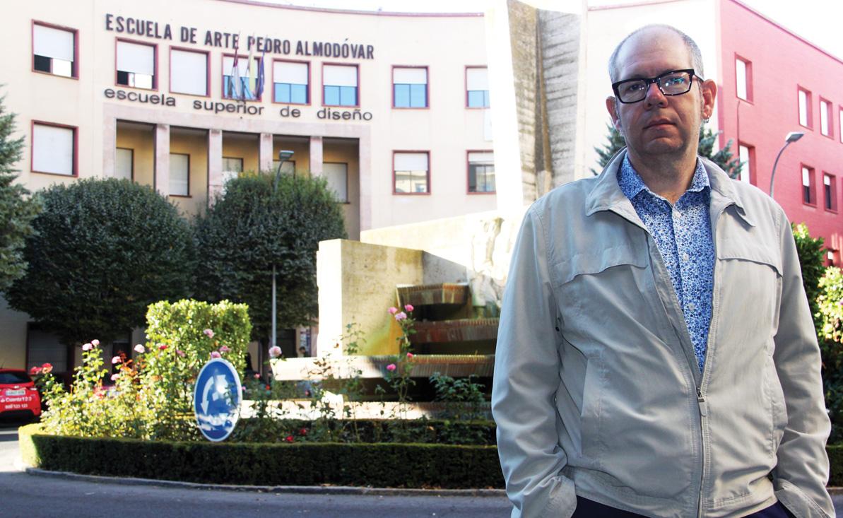 Vicente Ruiz Pérez. Director de la Escuela de Arte Pedro Almodóvar