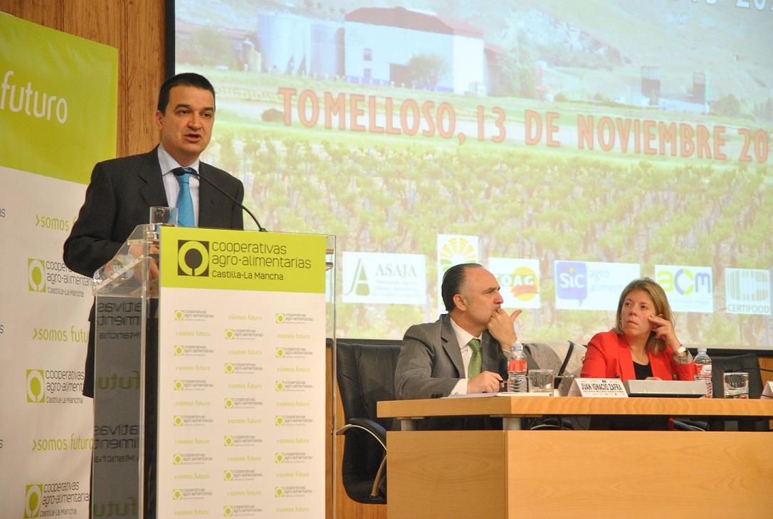 La alcaldesa preside la jornadas de presentación del PDR a Cooperativas Agroalimentarias de CLM