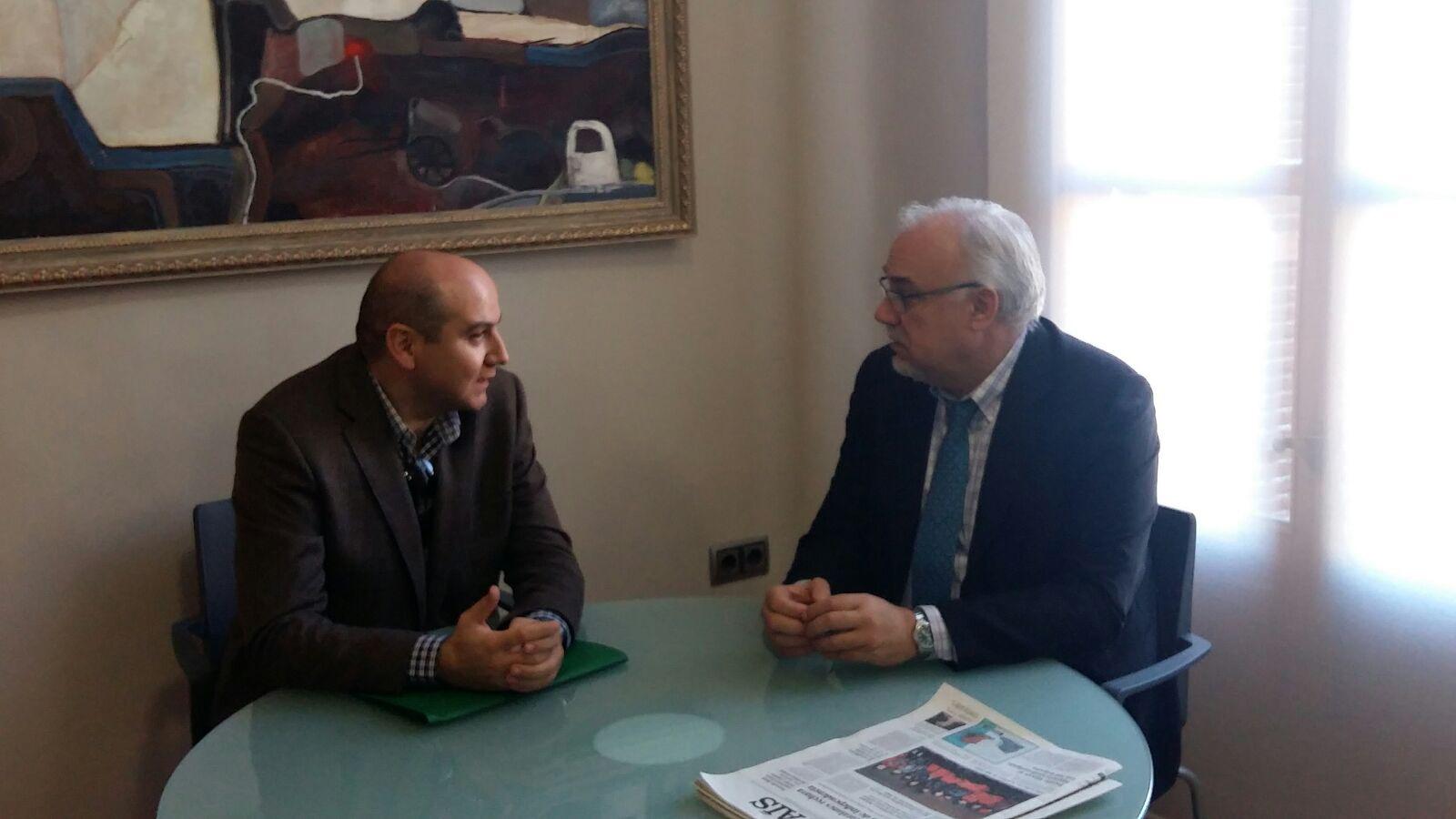 Julián Nieva y Francisco José García