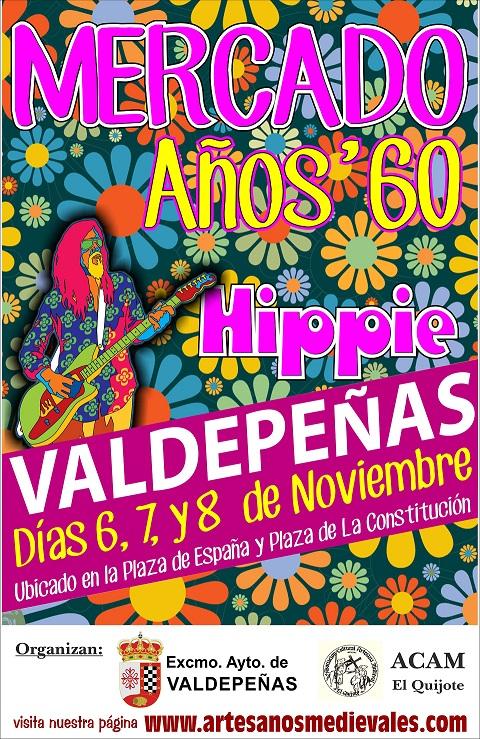 Mercado años 60 hippie