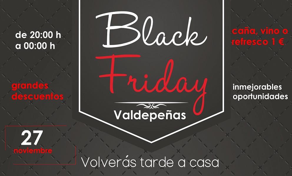 Valdepeñas celebra el 'II Black Friday' con descuentos de hasta el 65% y vinos y cañas a 1€