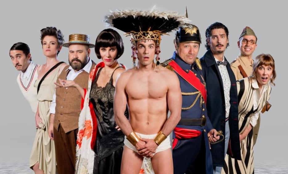 """La exitosa comedia """" El Eunuco """" llega este viernes al Teatro Auditorio de Valdepeñas"""