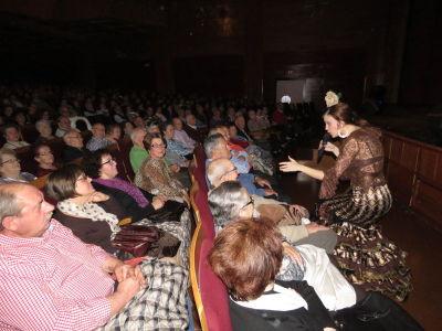 Tres horas de copla y humor en el Gran Teatro