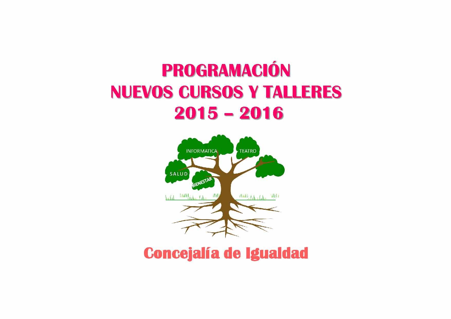 Abierto el plazo para la inscripción en los cursos gratuitos de la Concejalía de Igualdad