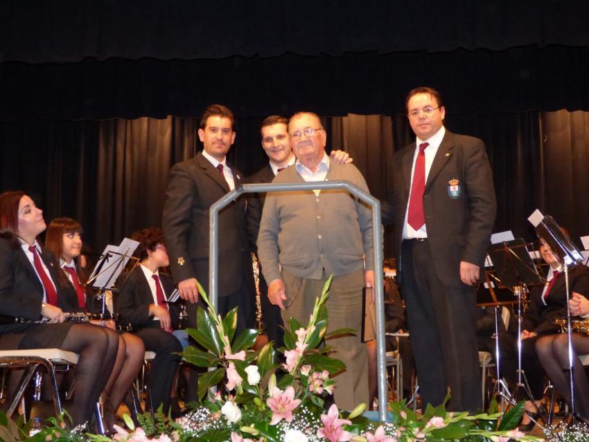 Los torralbeños llenan la Casa de Cultura para arropar a la Asociación «Amigos de la Música» en el concierto de Santa Cecilia, e iniciar los actos de su 125 Aniversario