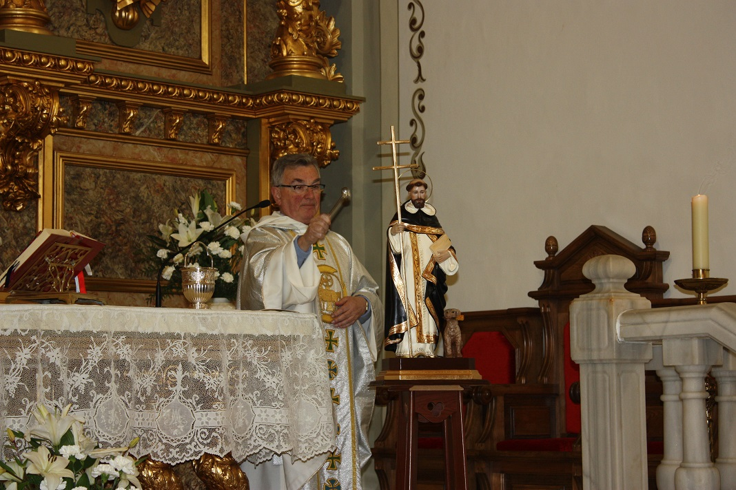 Las monjas dominicas abrieron el año jubilar con la bendición de una imagen del fundador de la orden