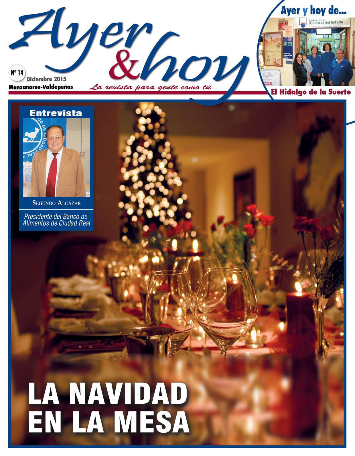 Revista de Diciembre 2015 – Manzanares – Valdepeñas