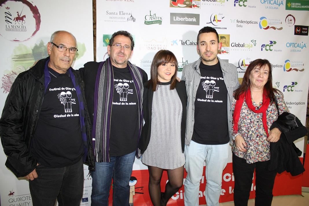 La solanera Alba Chaparro presentó su primer cortometraje profesional