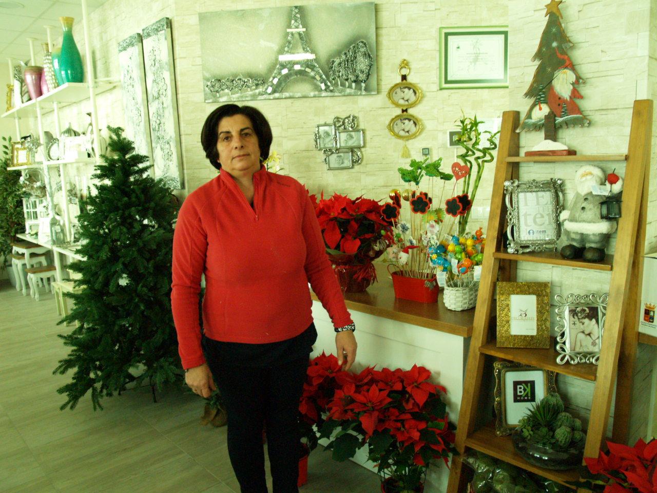 Floristería Julia estrena local en Pedro Muñoz