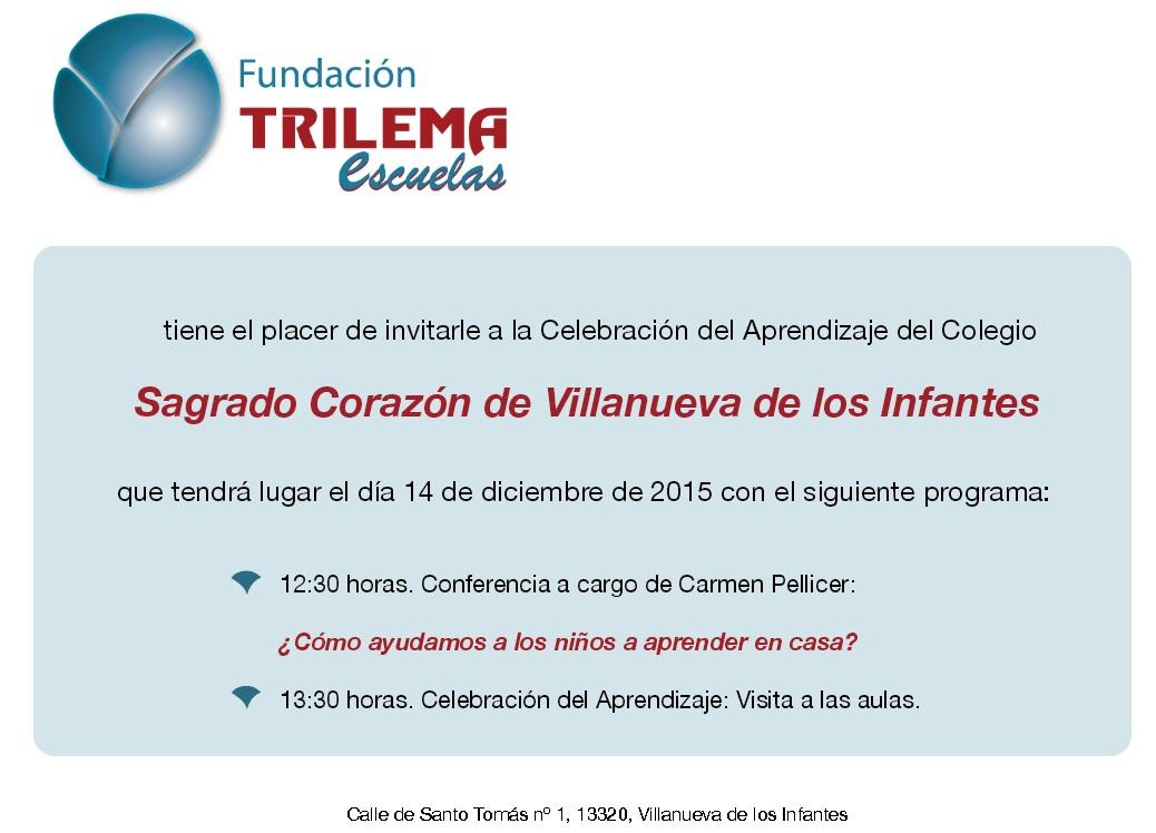 La Fundación Trilema celebra el día del aprendizaje en el Colegio Sagrado Corazón de Villanueva de los Infantes