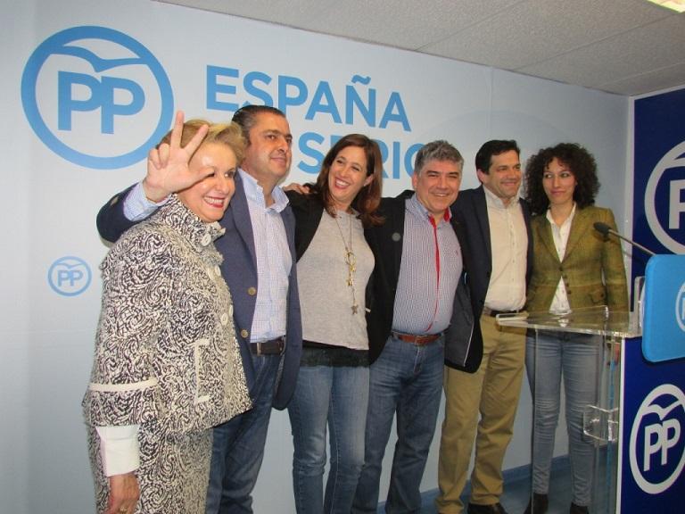 El Partido Popular ha obtenido tres diputados y el 38,43% de los votos