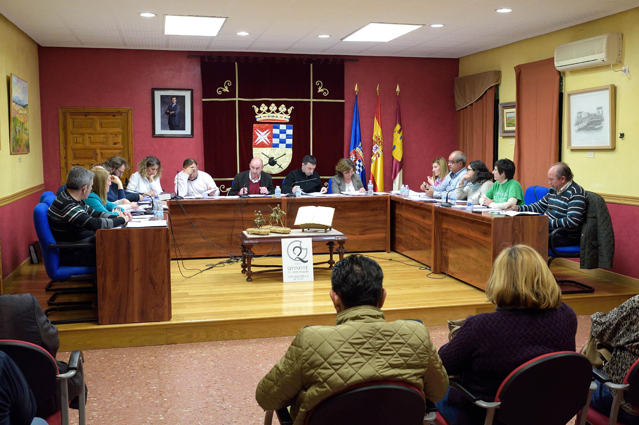 Argamasilla de Alba contará en 2016 con un presupuesto superior a cinco millones de euros