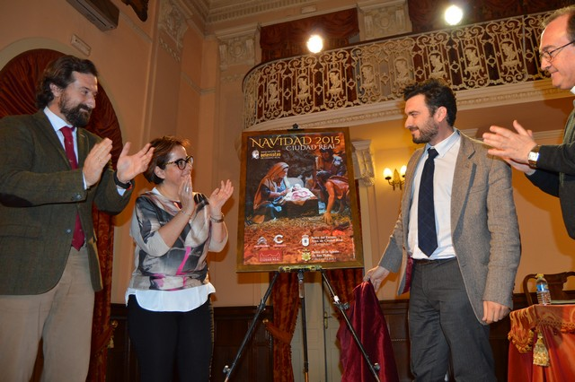 Presentado el Cartel de la Navidad de la Asociación de Belenistas de Ciudad Real