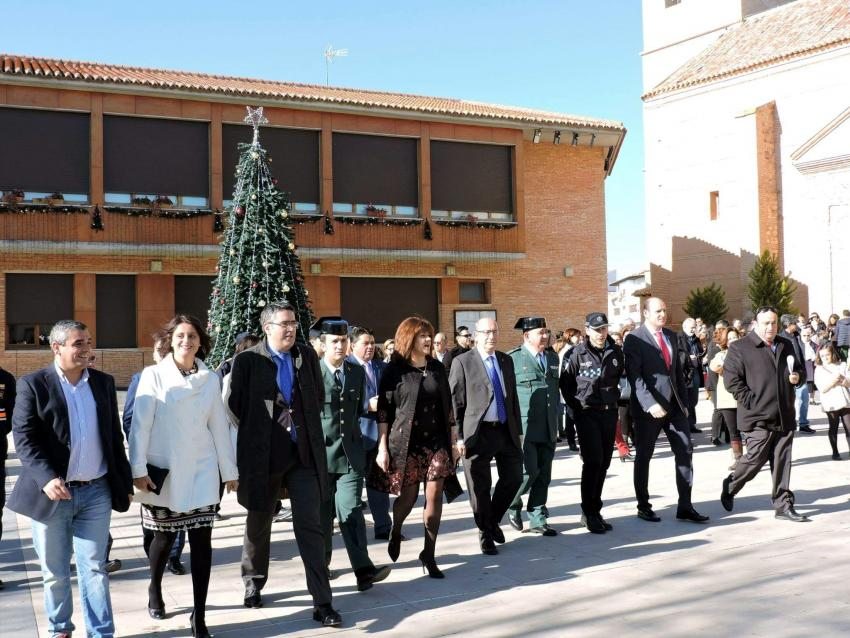 Torralba de Calatrava homenajeó a la Constitución Española en su 37º Aniversario