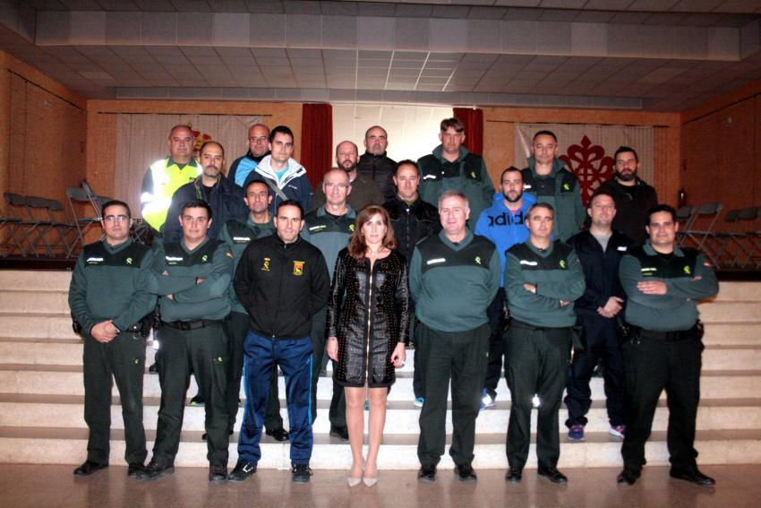 Jornadas técnicas para 200 agentes de la Guardia Civil de la Comandancia de Ciudad Real en Carrión de Calatrava