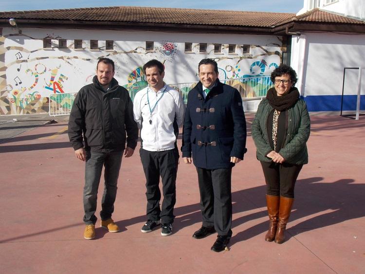 Lucas-Torres colaborará para la puesta en marcha del proyecto del comedor escolar en el Virgen de la Paz
