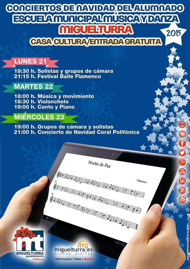 conciertos de navidades musica diciembre 2015