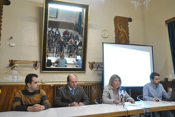La alcaldesa inaugura las I Jornadas de Patrimonio Industrial de Tomelloso