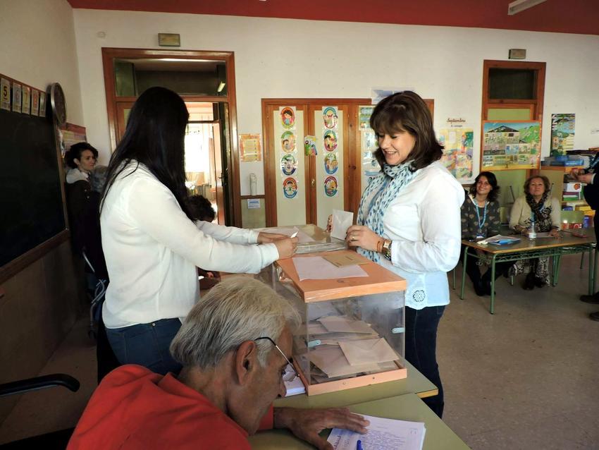 Amplia victoria del PP en Torralba de Calatrava, baja mucho PSOE, y crece el nivel de abstención