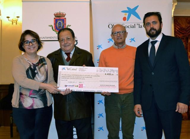 ADAD entrega al Banco de Alimentos el dinero de la III Carrera de la Mujer Solidaria