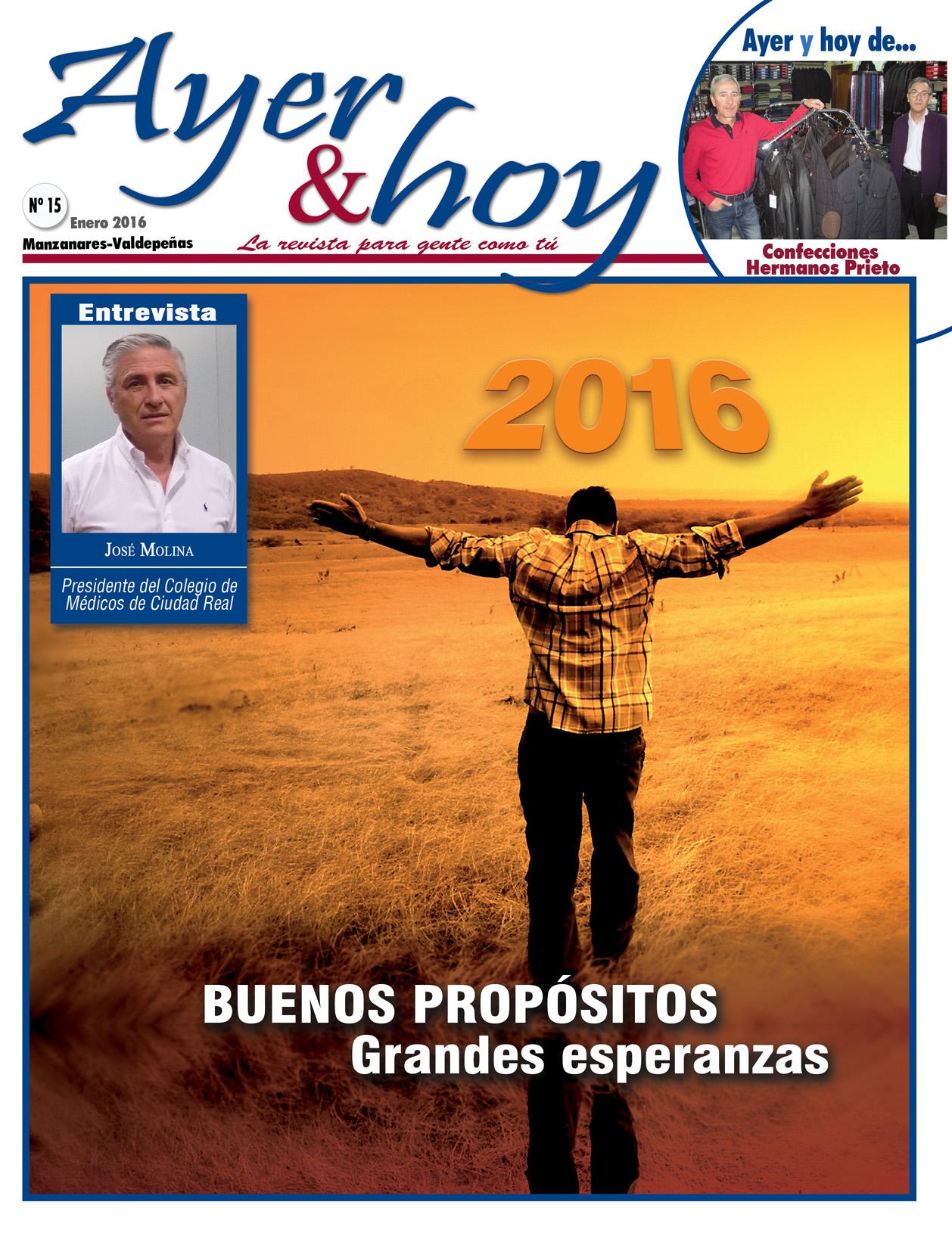 Revista de Enero 2016 – Manzanares – Valdepeñas