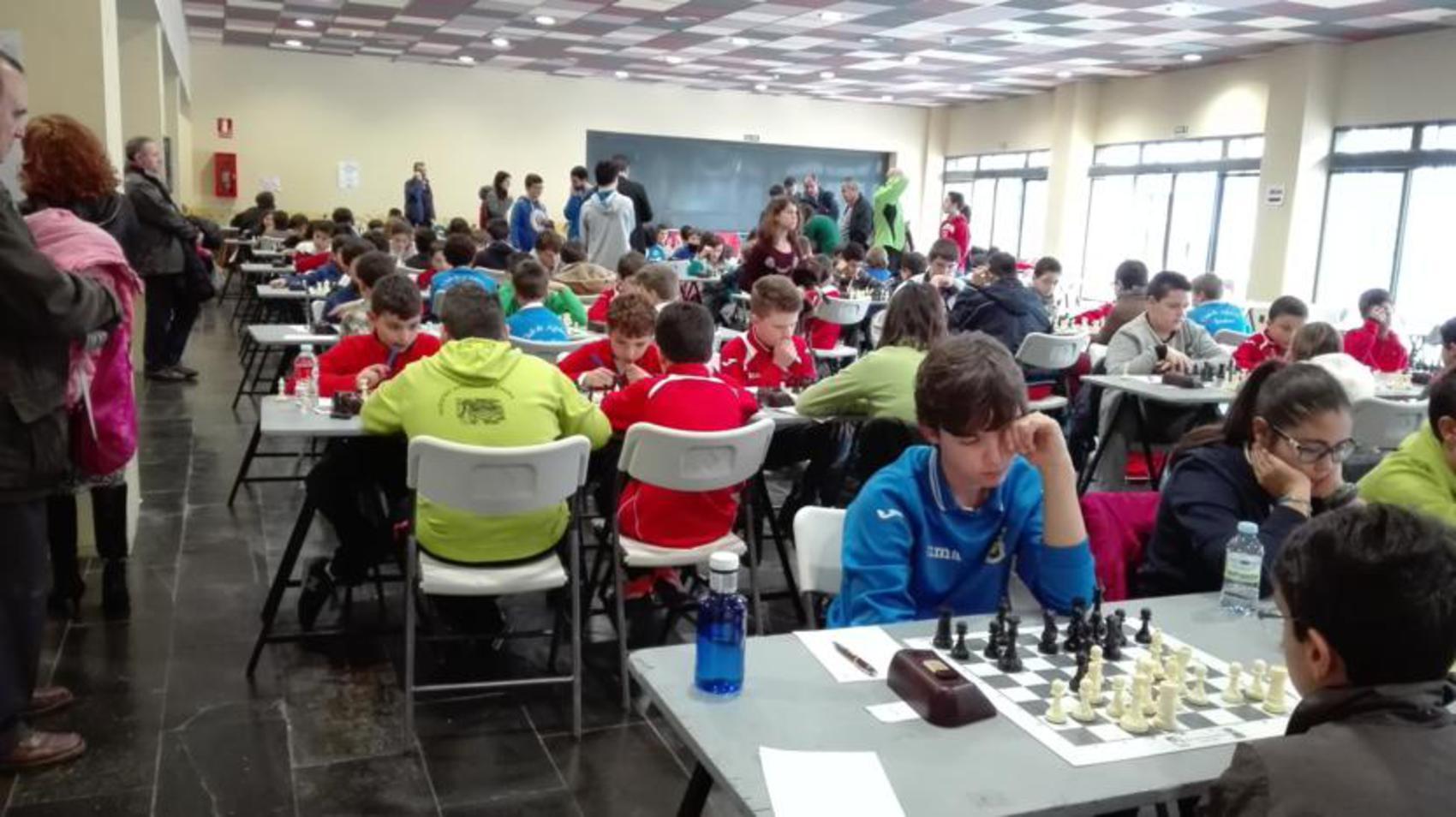 Miguelturra acogió la segunda y tercera jornada del Campeonato Provincial Escolar de Ajedrez
