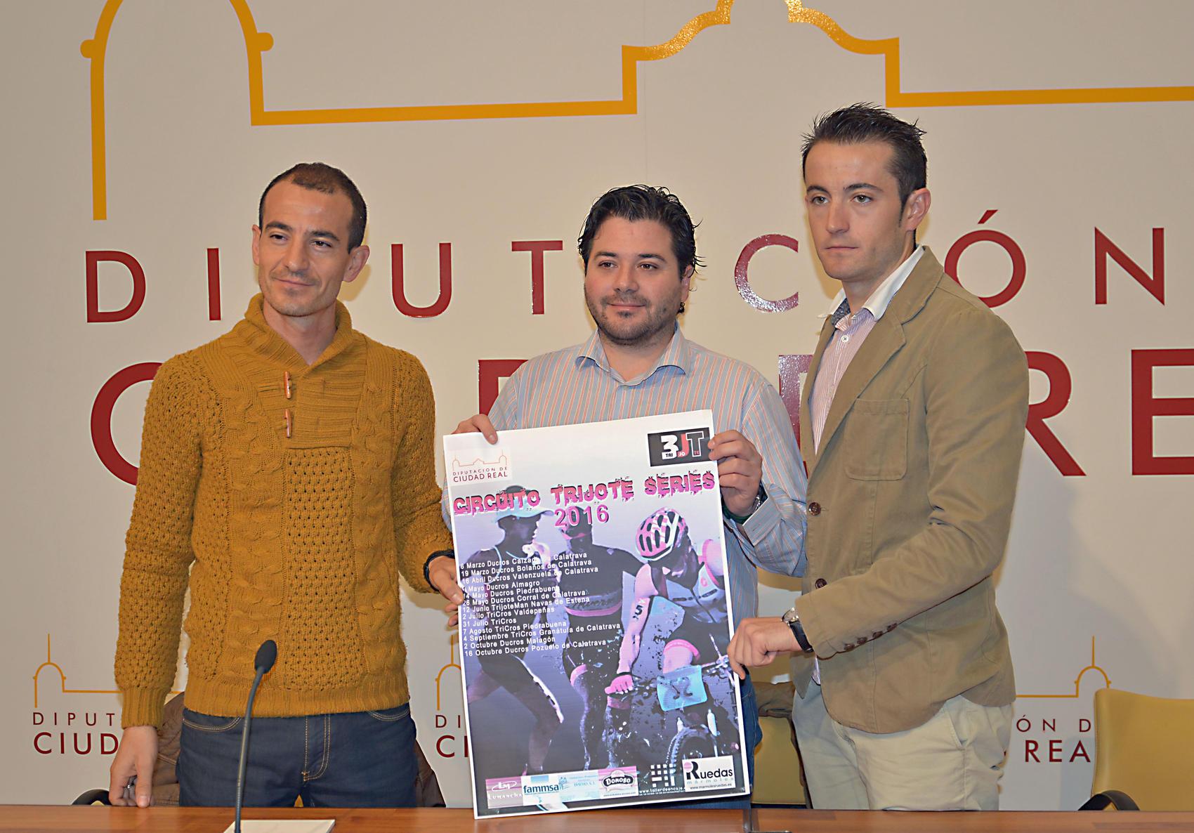 """La Diputación de Ciudad Real apoya las 13 carreras de la cuarta edición del circuito """" Trijote Series """""""