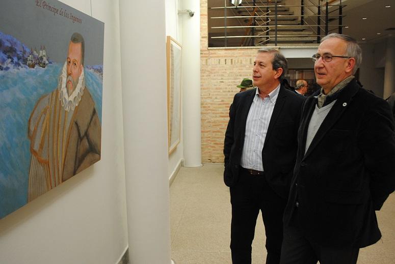 """Las pinturas de """"CervARTES"""" llegan al Museo Municipal de Valdepeñas"""