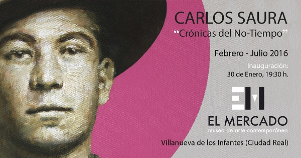 """La exposición de Carlos Saura abre sus puertas el próximo sábado en el Museo de Arte Contemporáneo """"El Mercado"""""""