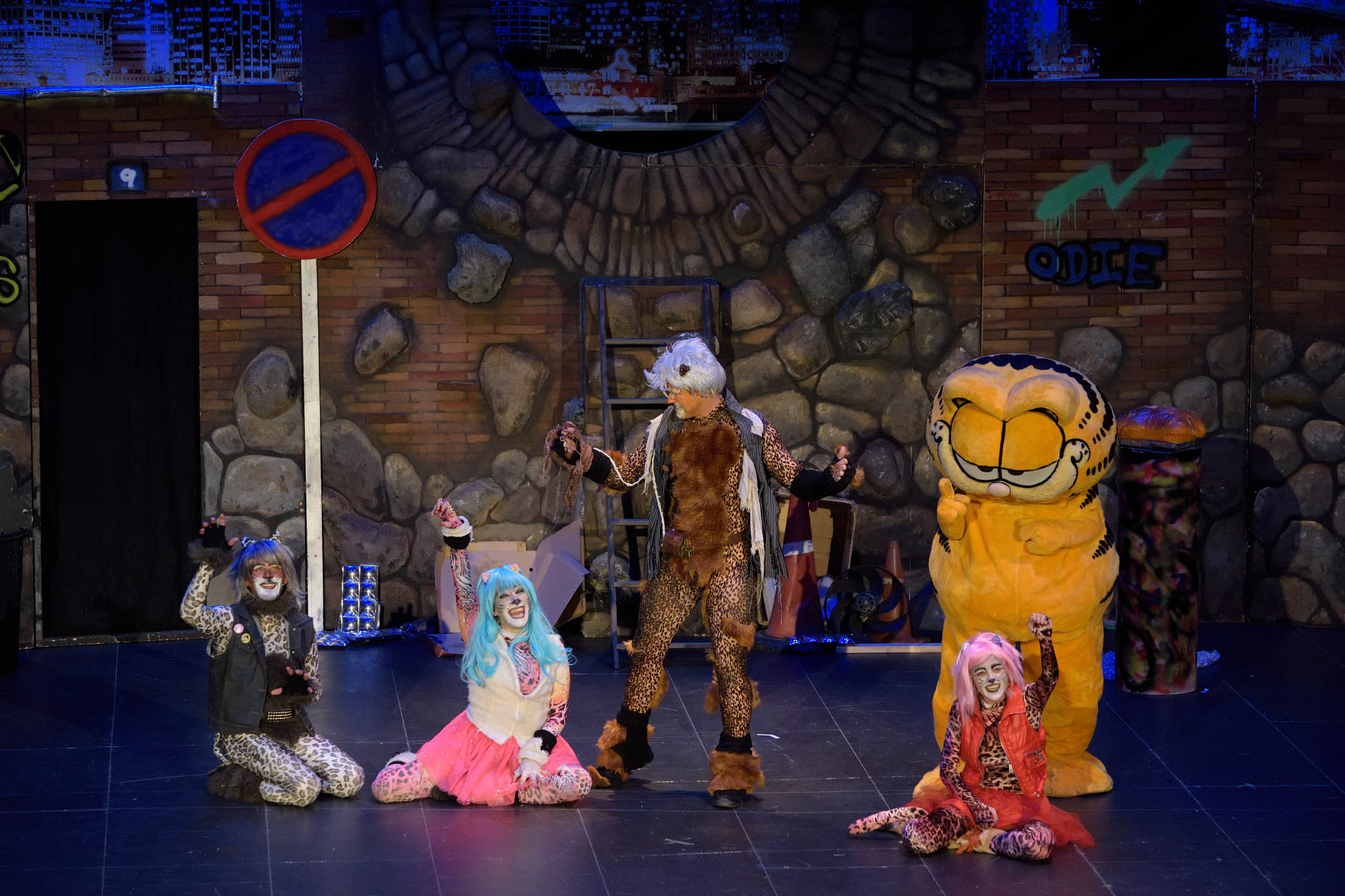 ' Garfield Live ' visita Argamasilla de Alba
