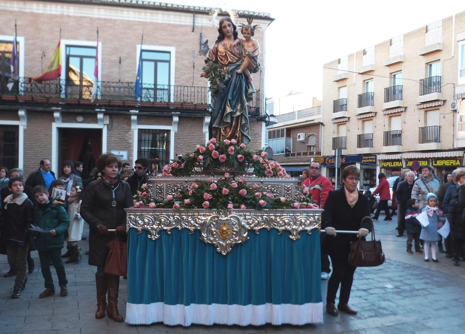 Llamada a la participación en la procesión de la Virgen de la Paz