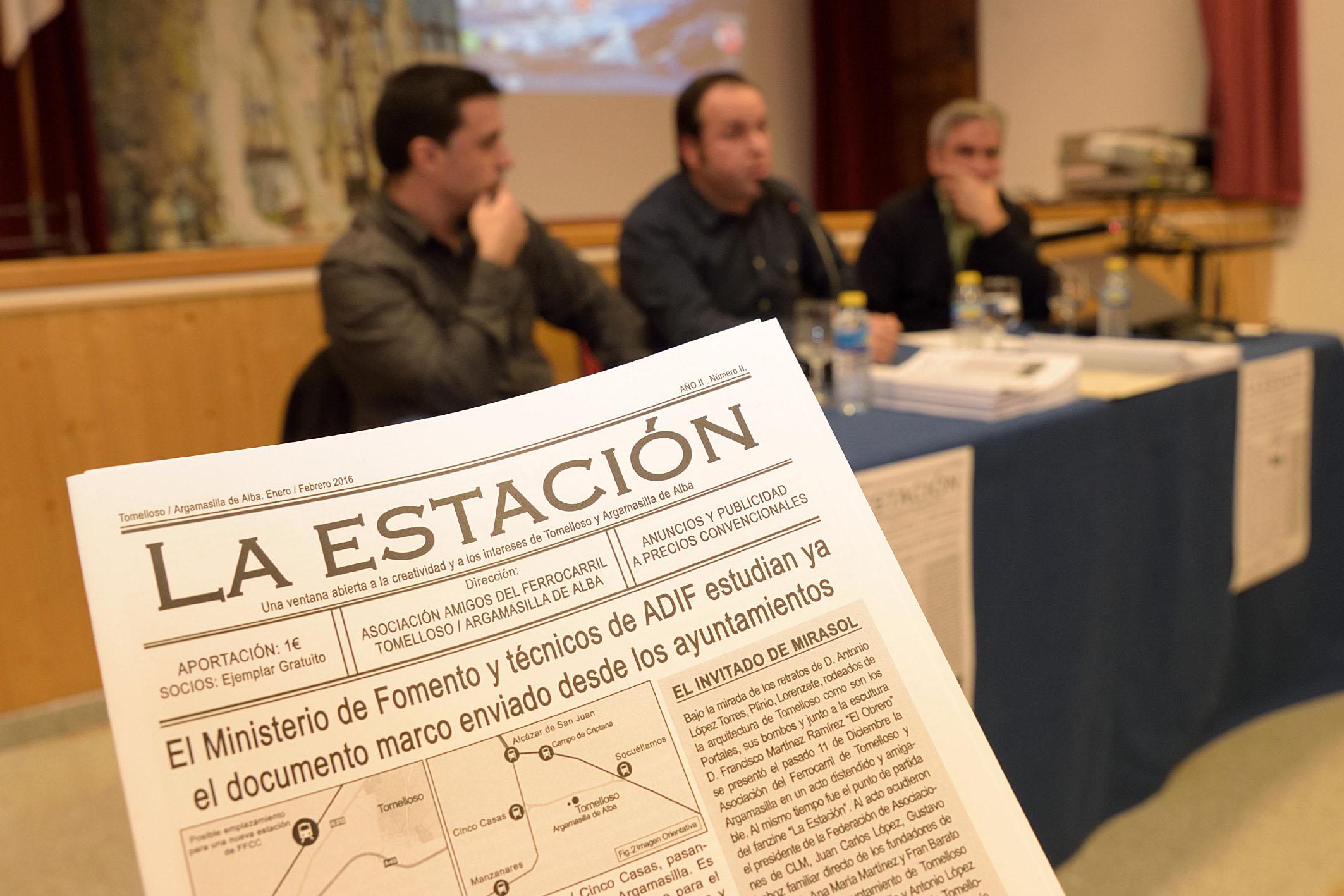 AAFTA se presenta en Argamasilla de Alba