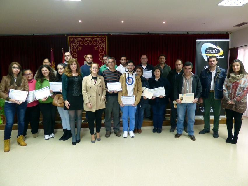 Cincuenta alumnos de Carrión terminan los cursos de formación programados por el Ayuntamiento carrionero