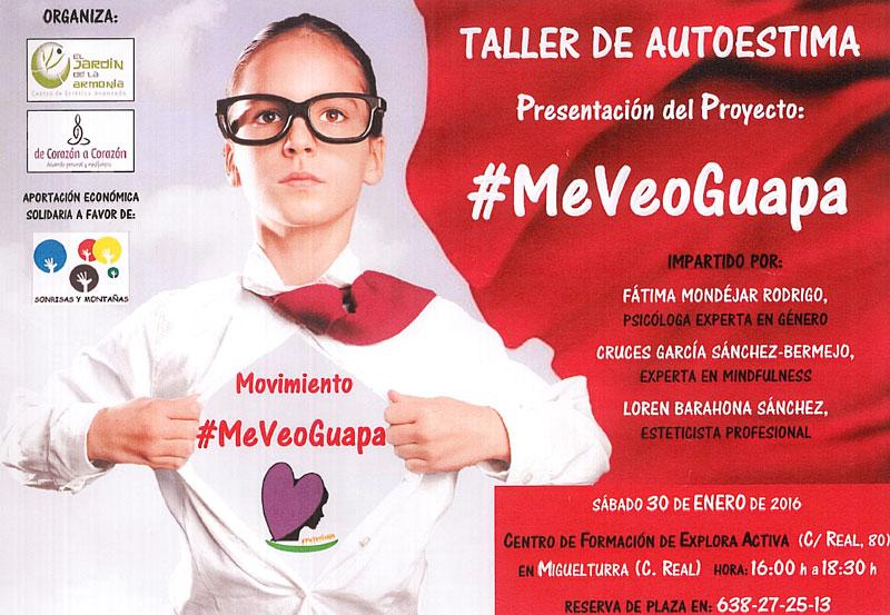 Taller de Autoestima en Miguelturra, presentación del proyecto «Me veo Guapa»