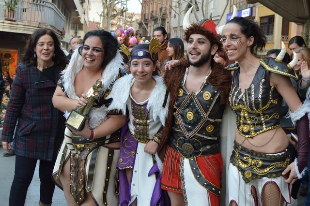 """""""El Burleta"""" se alza con el Arlequín de Oro del Desfile del Domingo de Piñata de Ciudad Real"""
