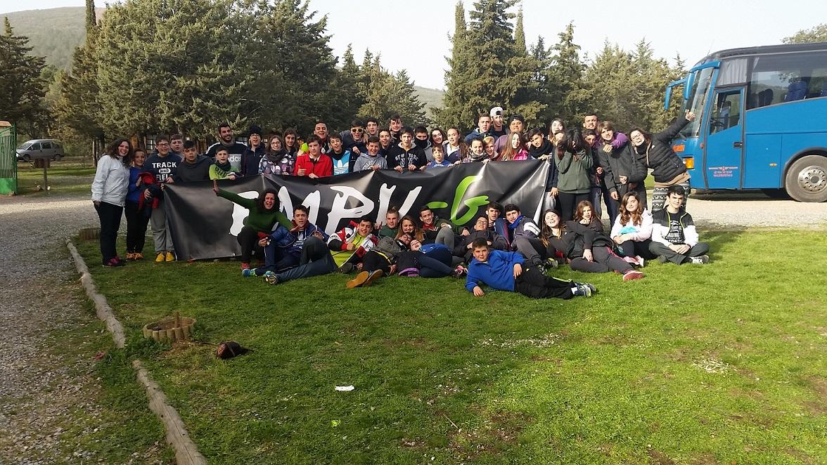 Fin de semana de campamento y convivencia del programa Empu-G en Urda