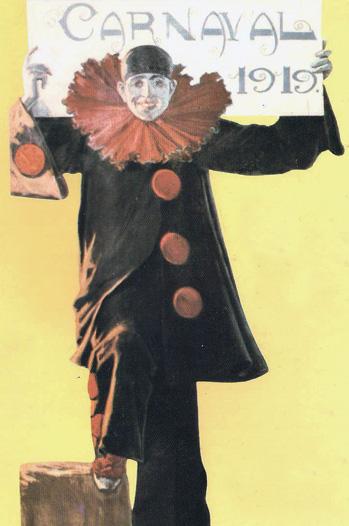 Dibujo de Ángel Andrade para el carnaval