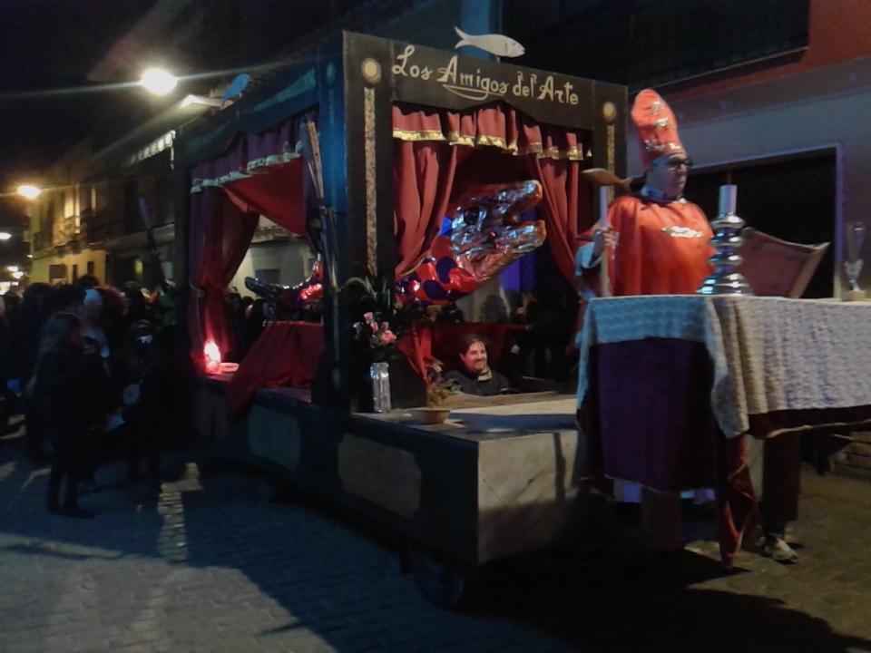 El Entierro de la Sardina media el Carnaval en Daimiel