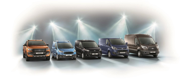 Ford logra ser número uno en Europa, en vehículos comerciales, gracias a la gama Transit