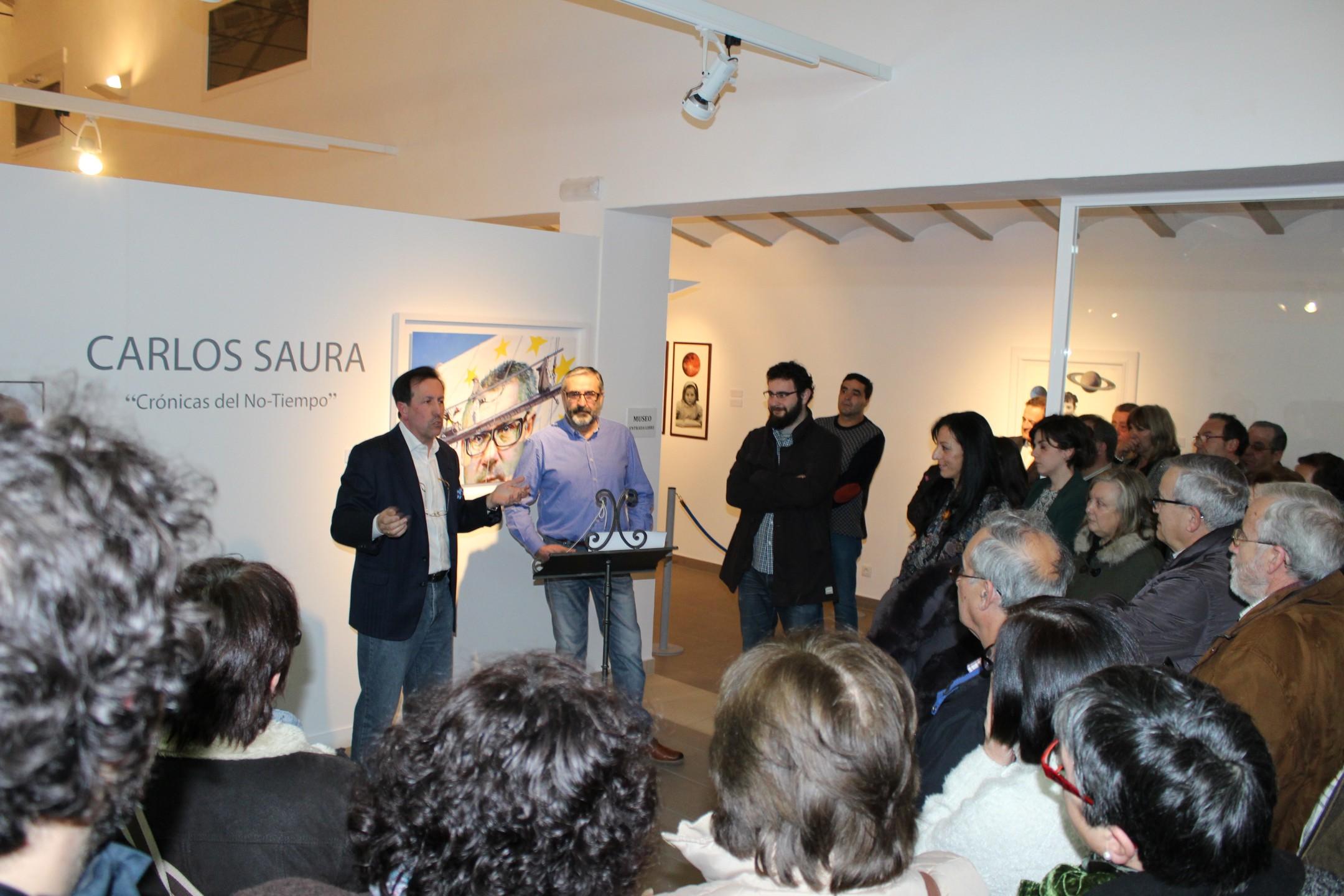 Hasta julio podrá visitarse la exposición Crónicas del No-Tiempo en el Museo de Arte Contemporáneo 'El Mercado'