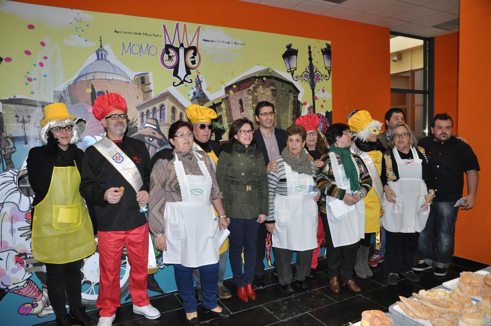 El Presidente de la Diputación participa en los carnavales de Miguelturra