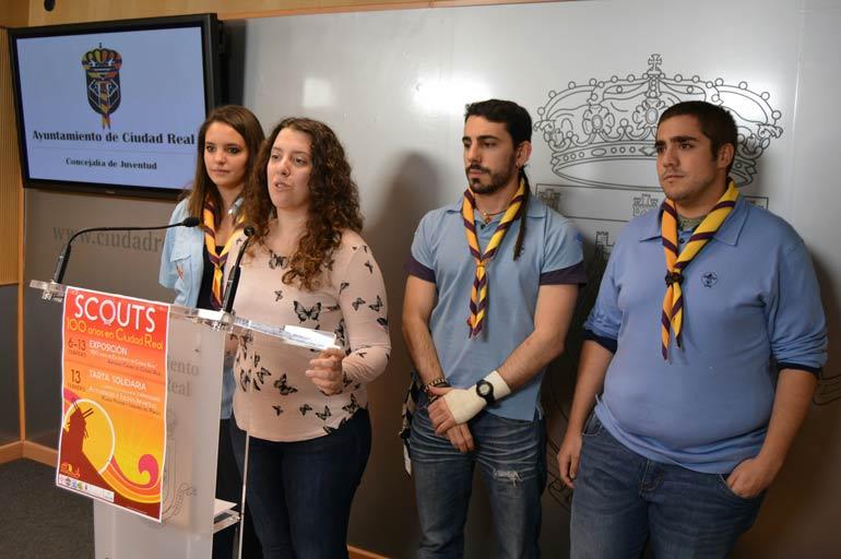 400 scouts celebrarán en Ciudad Real el centenario del escultismo en nuestra provincia